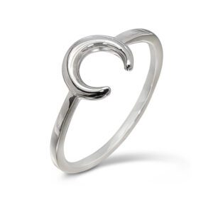 Real 925 Sterling Silver Square /& Chevron Adjustable Midi Ring Shapes Geometric